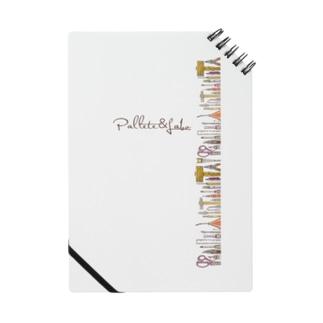 Pallete&Labo屋号オリジナルグッズ縦型カラー Notes