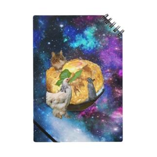 space catとなかまたち Notes
