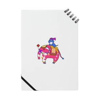 インド象とニャンマー Notes