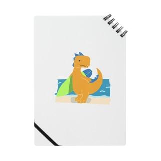 サーフィンを楽しんだかいじゅう Notes