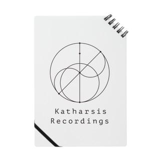 Katharsis Black Logo Notes