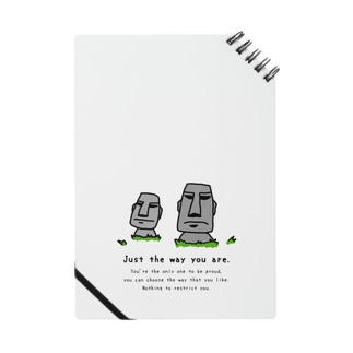 Just the way you are_moai_3 Notes