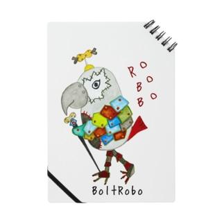 ROBOBO ヨウムのボルトロボ  Notes