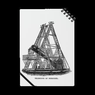 博物雑貨 金烏のハーシェルの望遠鏡 - The British Library Notes