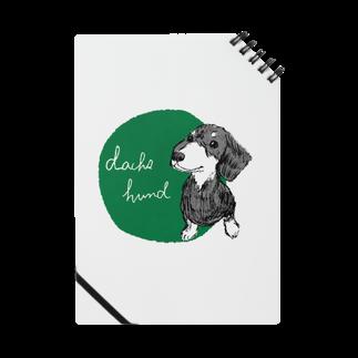 iccaのダックスフント green Notes