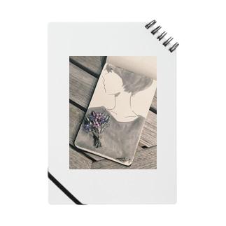 蚤の市で買ったアンティークブローチ ノート