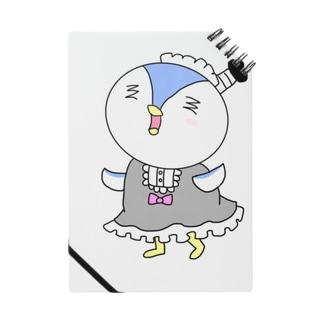 ペンギン侍のメイド姿 Notes
