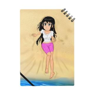 カラー黒髪女子浜辺 Notes