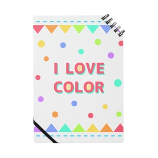 【I LOVE COLOR】 Notes