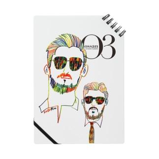 O3 オッサン ロゴヴァージョン ノート