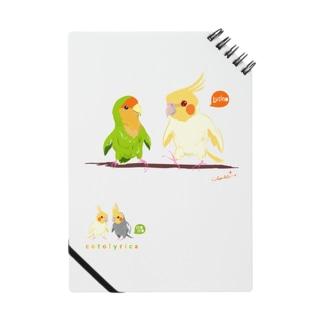 Cotolyrica ルチノーオカメインコとラブバード コザクラインコ Notes