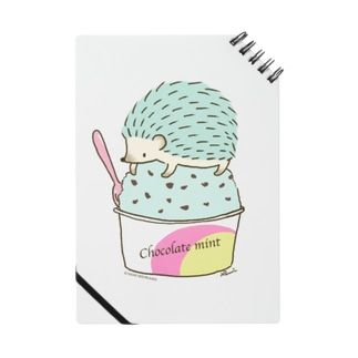 Choco Mint ハリネズミ Notes