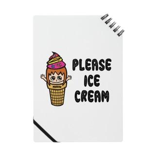 Marrowのアイスクリーム ノート Notes