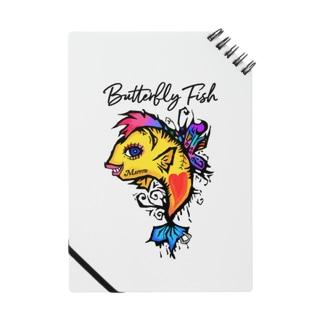 バタフライフィッシュ ノート Notes