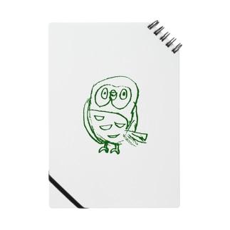 torito・ふくろうグッズ Notes
