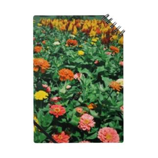 花柄 ノート