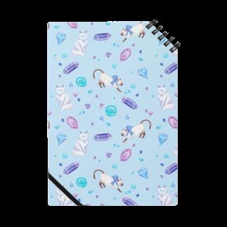 Fanfleecyのgemstone(blue) Notes
