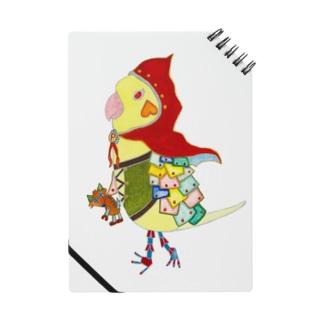 ROBOBO オカメインコ 「ポポロボ」ロゴなし ノート