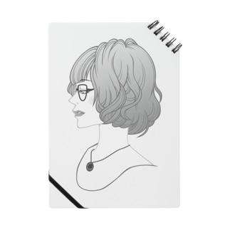 眼鏡女子 Notes
