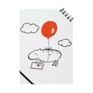 カピバラ風船 Notes