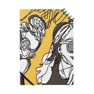 落書きアート女の子デザイン Notes