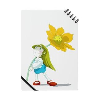 花と小さい女の子 Notes