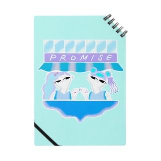 Promise blue ノート