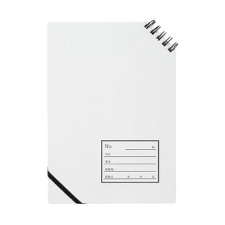 標本ラベル Notes