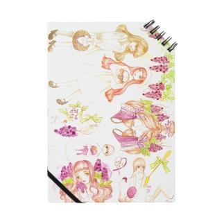 葡萄の少女たち Notes
