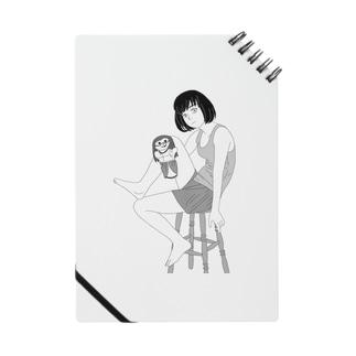 少女とパペット ノート