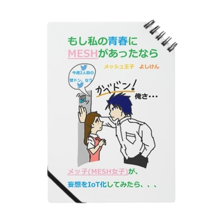 MoshiMESH Notebook