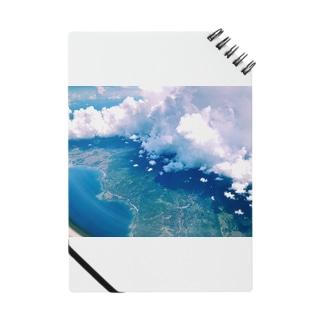 空の上からの写真 Notes