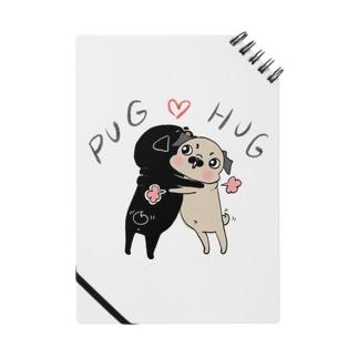 PUG ❤︎ HUG ノート