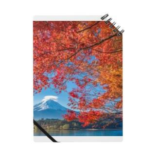 富士山と紅葉 ノート