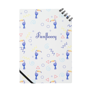 Fanfleecyのトロピカルバード(white) Notes
