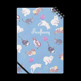 Fanfleecyのmeow meow(blue) Notes