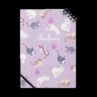Fanfleecyのmeow meow(purple) Notes