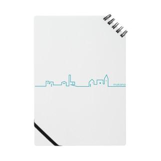 雑貨屋makanaのロゴ Notes