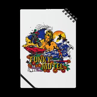 JOKERS FACTORYのFUNKY MOTEL ノート