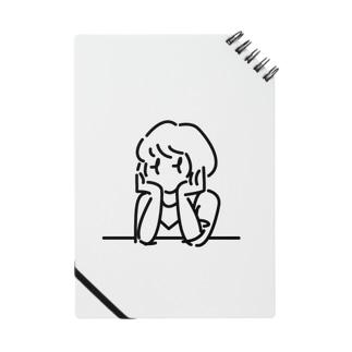 考え中な女の子 Notes