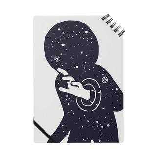 宇宙空間から手だけこんにちは ノート