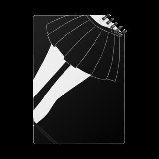 piorのスカート(モノクロ) ノート