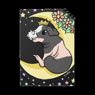 Lichtmuhleの月とモルモット(ゆるかわ×スキニーギニアピッグ) ノート