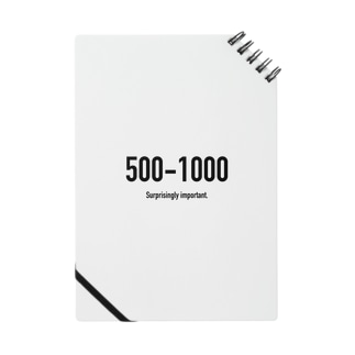 POINTS - 500-1000 Notes