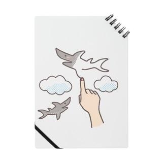 想像力が溢れてたまらない人が空に描くサメ Notes