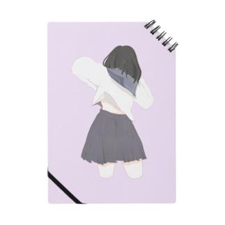 肩甲骨が痛い女の子 Notes