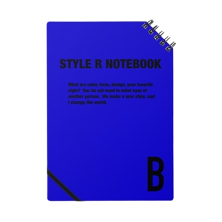 STYLE R NOTEBOOK BLUE Notes