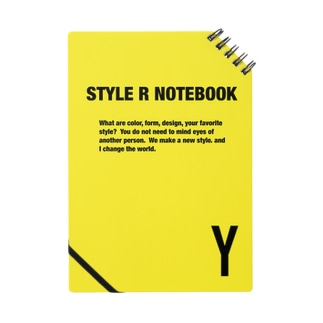 STYLE R NOTEBOOK YELLOW Notes