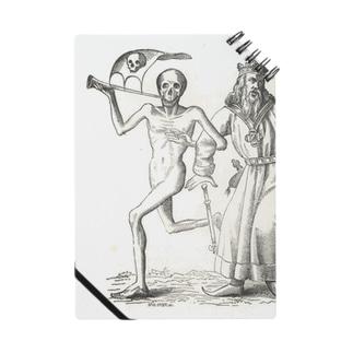 ホルバインの死の舞踏と聖書の木版画 ノート