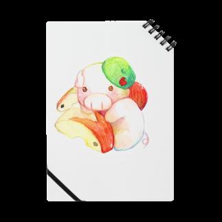P-PiGのもぐぶーりんご Notes